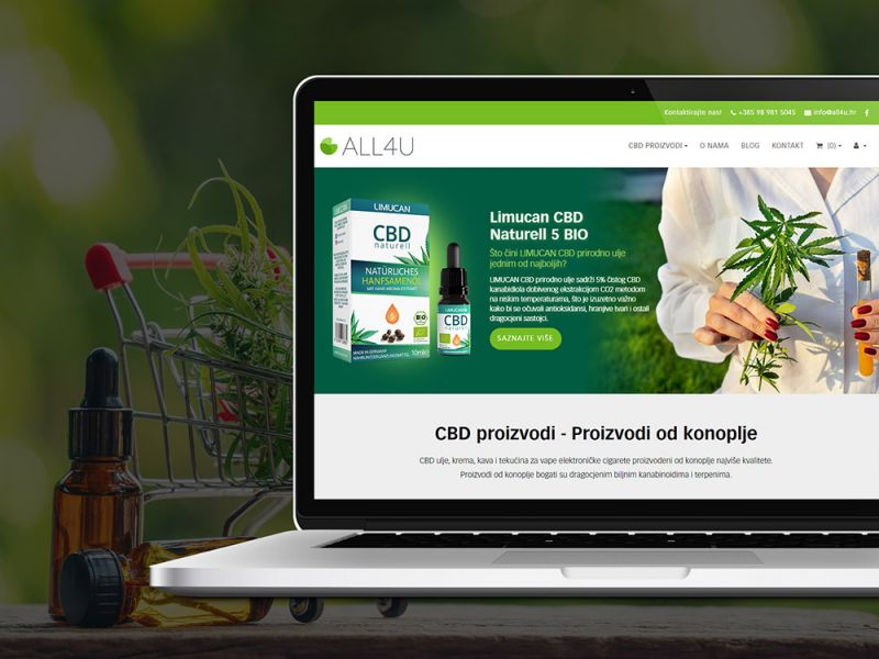 ALL4U CBD shop